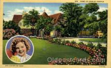 act020166 - Shirley Temple Actress Postcard Post Cards Old Vintage Antique Movie Star