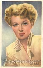 act020172 - Lana Turner Trade Card Actor, Actress, Movie Star, Postcard Post Card