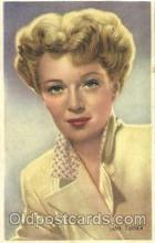 act020181 - Ann Todd Actor, Actress, Movie Star, Postcard Post Card