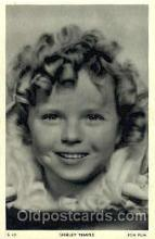 act020188 - Shirley Temple Actor, Actress, Movie Star, Postcard Post Card
