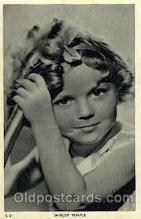 act020190 - Shirley Temple Actor, Actress, Movie Star, Postcard Post Card