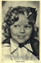 act020192 - Shirley Temple Actor, Actress, Movie Star, Postcard Post Card