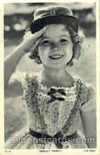 act020193 - Shirley Temple Actor, Actress, Movie Star, Postcard Post Card