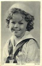 act020194 - Shirley Temple Actor, Actress, Movie Star, Postcard Post Card