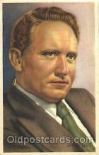 act020203 - Spencer Tracy Trade Card Actor, Actress, Movie Star, Postcard Post Card