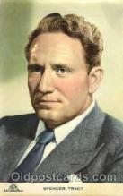act020205 - Spencer Tracy Actor, Actress, Movie Star, Postcard Post Card