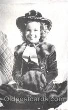 act020218 - Non Postcard Backing,  Actress Shirley Temple Postcard Post Card