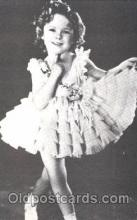 act020225 - Non Postcard Backing,  Actress Shirley Temple Postcard Post Card
