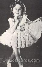 act020229 - Non Postcard Backing,  Actress Shirley Temple Postcard Post Card