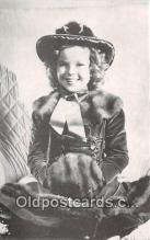 act020238 - Shirley Temple Movie Actor / Actress, Entertainment Postcard Post Card