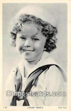 act020242 - Shirley Temple Movie Actor / Actress, Entertainment Postcard Post Card