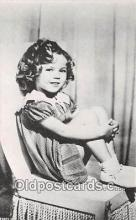 act020244 - Shirley Temple Movie Actor / Actress, Entertainment Postcard Post Card