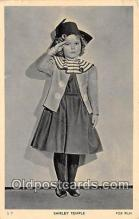 act020303 - Shirley Temple Postcard