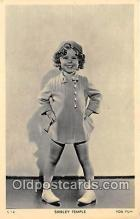 act020305 - Shirley Temple Postcard