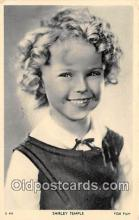 act020307 - Shirley Temple Postcard