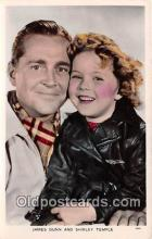 act020324 - James Dunn & Shirley Temple Postcard