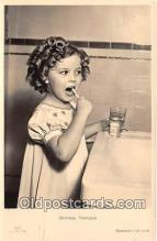 act020328 - Shirley Temple Postcard