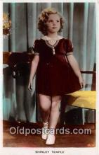 act020349 - Shirley Temple Postcard