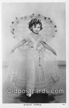 act020355 - Shirley Temple Postcard