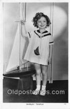 act020382 - Shirley Temple Postcard