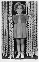 act020383 - Shirley Temple Postcard