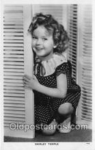 act020384 - Shirley Temple Postcard