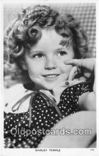 act020385 - Shirley Temple Postcard
