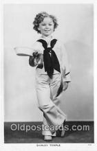act020390 - Shirley Temple Postcard