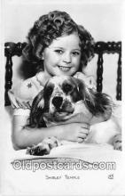 act020413 - Shirley Temple Postcard