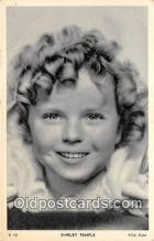 act020420 - Shirley Temple Postcard