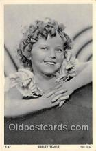 act020422 - Shirley Temple Postcard