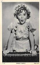 act020423 - Shirley Temple Postcard