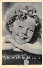 act020429 - Shirley Temple Postcard