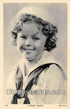 act020433 - Shirley Temple Postcard