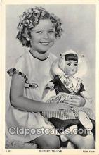 act020436 - Shirley Temple Postcard