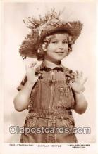 act020447 - Shirley Temple Postcard