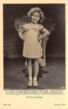 act020463 - Shirley Temple Postcard