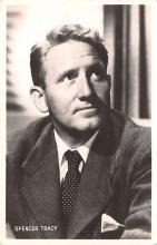 act020476 - Spencer Tracy Movie Star Actor Actress Film Star Postcard, Old Vintage Antique Post Card