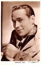 act020487 - Franchot Tone Movie Star Actor Actress Film Star Postcard, Old Vintage Antique Post Card