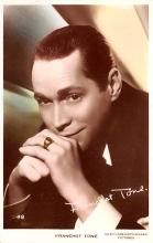 act020489 - Franchot Tone Movie Star Actor Actress Film Star Postcard, Old Vintage Antique Post Card