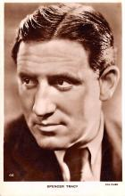 act020492 - Spencer Tracy Movie Star Actor Actress Film Star Postcard, Old Vintage Antique Post Card