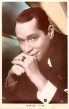 act020499 - Franchot Tone Movie Star Actor Actress Film Star Postcard, Old Vintage Antique Post Card