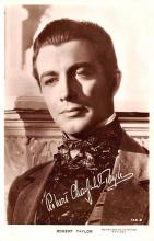 act020502 - Robert Taylor Movie Star Actor Actress Film Star Postcard, Old Vintage Antique Post Card