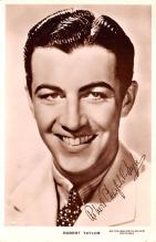 act020506 - Robert Taylor Movie Star Actor Actress Film Star Postcard, Old Vintage Antique Post Card