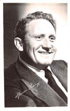 act020508 - Spencer Tracy Movie Star Actor Actress Film Star Postcard, Old Vintage Antique Post Card