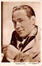 act020513 - Franchot Tone Movie Star Actor Actress Film Star Postcard, Old Vintage Antique Post Card