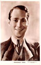 act020516 - Franchot Tone Movie Star Actor Actress Film Star Postcard, Old Vintage Antique Post Card