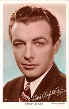 act020520 - Robert Taylor Movie Star Actor Actress Film Star Postcard, Old Vintage Antique Post Card