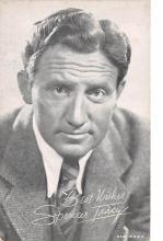 act020521 - Spencer Tracy Movie Star Actor Actress Film Star Postcard, Old Vintage Antique Post Card