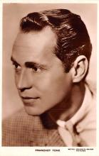 act020522 - Franchot Tone Movie Star Actor Actress Film Star Postcard, Old Vintage Antique Post Card